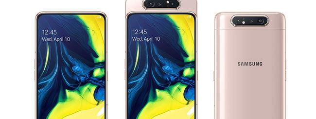 Samsung Galaxy A80 disponibile in Italia