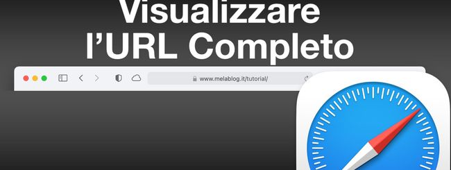 macOS: Visualizzare l'URL completo in Safari