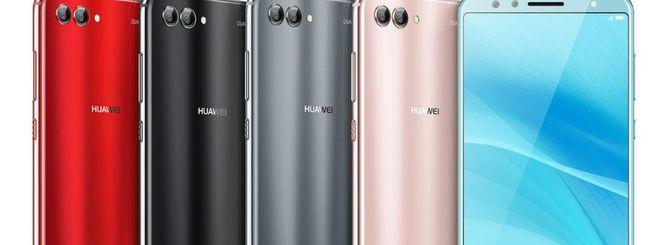 Huawei nova 2S, display 18:9 e quattro fotocamere