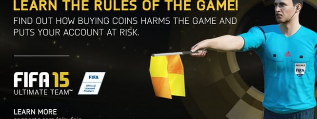 FIFA 15: ban per chi bara in Ultimate Team