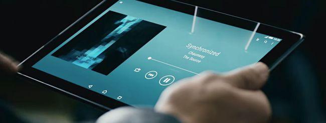 Sony Xperia Z4 Tablet, prezzi ufficiali in Italia