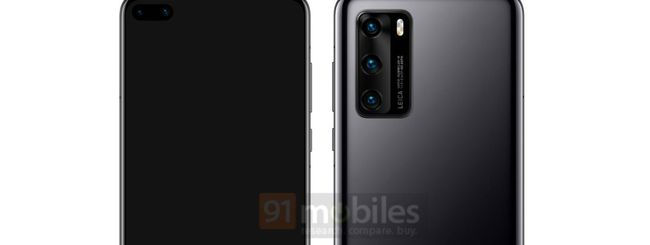 Huawei P40, due fotocamere frontali in-display?