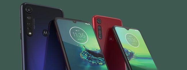 Motorola annuncia Moto G8 Plus, G8 Play e E6 Play