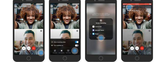 Skype, condivisione dello schermo nelle chiamate