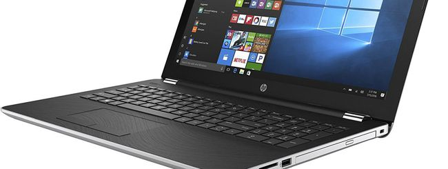 Cyber Monday: notebook HP in offerta lampo