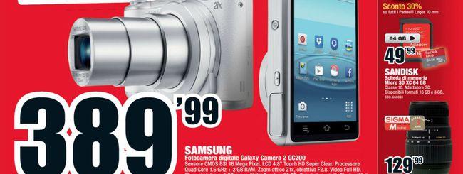 Mediaworld: debutta la Samsung Galaxy Camera 2