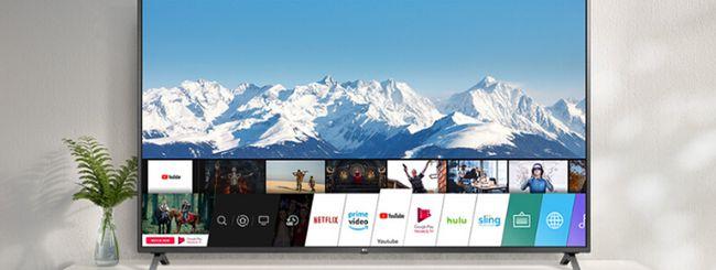"""La Smart TV di LG da 60"""" in offerta per il Cyber Monday"""