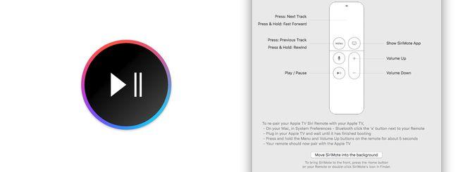 OS X, usare il Siri Remote per controllare il Mac