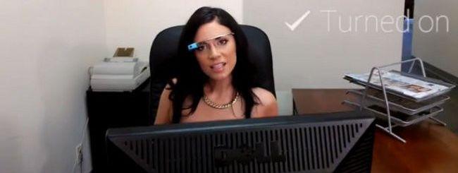 Il primo porno con i Google Glass