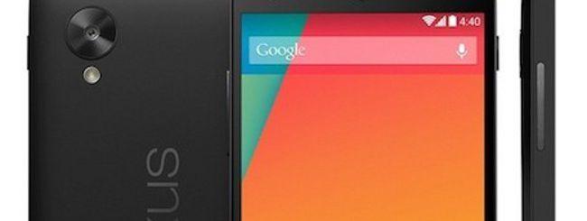 Nexus 5 bianco acquistabile dall'1 novembre