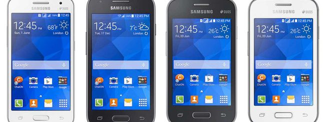 Samsung annuncia 4 nuovi Galaxy di fascia bassa