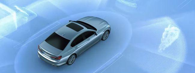 BMW spiega i cinque livelli della guida autonoma