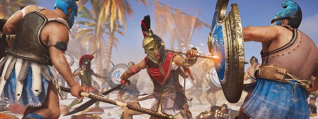 Assassin's Creed Odyssey su Switch, ma in cloud