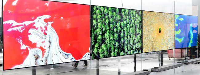 CES 2017: LG Signature OLED TV W, sottilissimi