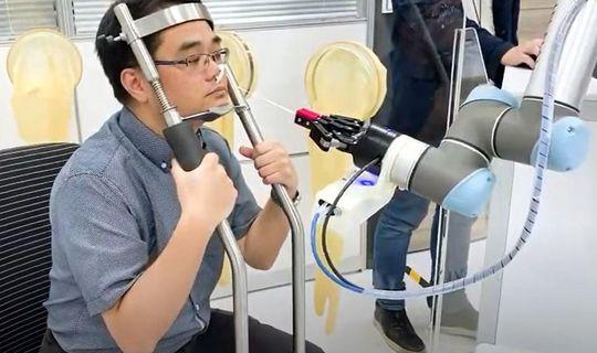 coronavirus tamponi robot