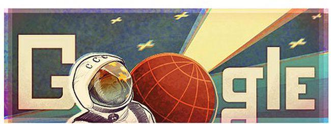 Google ricorda il primo uomo nello spazio