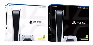 PlayStation 5 Versioni in vendita