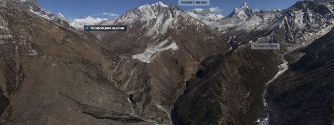 Internet Explorer 10 scala l'Everest