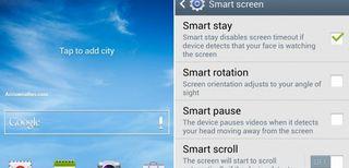 UI Samsung Galaxy S4