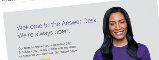 Answer Desk, il Genius Bar della Microsoft