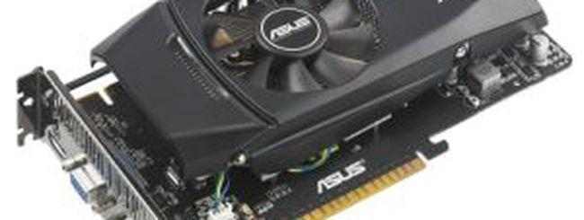 ASUS GTX550 Ti DirectCU: versione overcloccata della nuova GPU NVIDIA