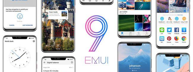 EMUI 9.0 disponibile per Huawei P20 e Mate 10