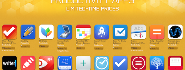App Store, Apple promuove 20 app di produttività scontate (+ 1 consigliata da noi)