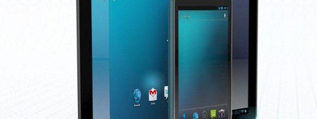 Android 4.0 Ice Cream Sandwich su tablet, ecco un render