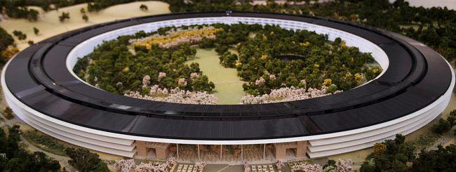 Uno sguardo al nuovo campus Apple