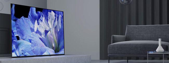 Sony presenta le TV OLED 4K BRAVIA della Serie AF8