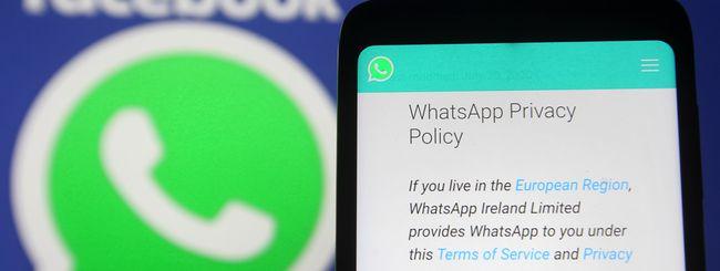 """Il Garante Privacy contro l'informativa di Whatsapp: """"Poco chiara"""""""
