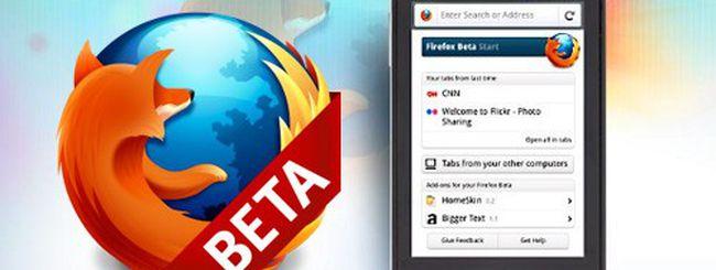 Firefox 5 beta disponibile sull'Android Market