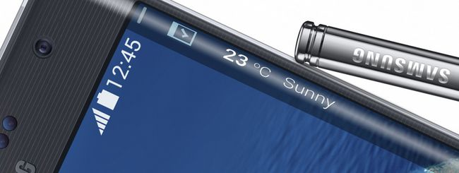 Galaxy Note Edge, unico nel suo genere