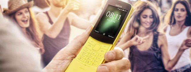 Nokia 8110 4G, arriva WhatsApp
