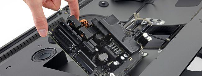 iMac Pro smontato da iFixit: c'è un chip misterioso