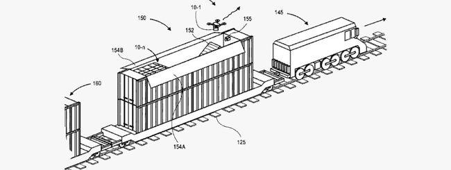 Amazon, i droni decolleranno da hub mobile
