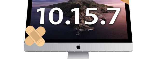 macOS Catalina 10.15.7 risolve il problema grafico degli iMac
