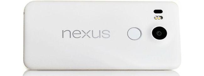 LG Nexus 5 (2015), prima immagine ufficiale