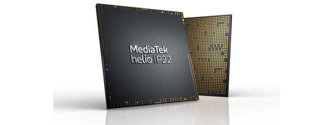 MediaTek Helio P22, nuovo SoC di fascia media