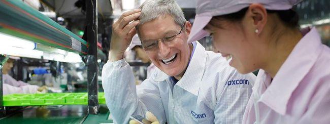 Apple con Foxconn per l'espansione in Asia