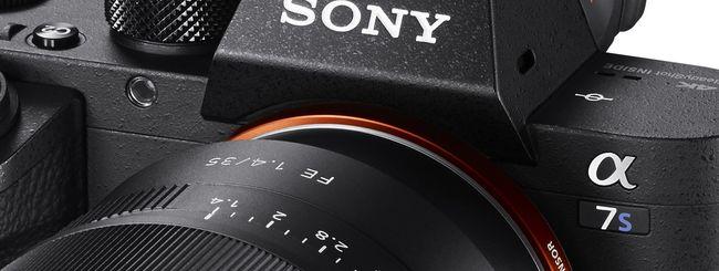 Sony Alpha 7S II, nuova mirrorless con ISO 409.600