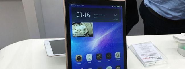 Huawei svela il tablet MediaPad M2