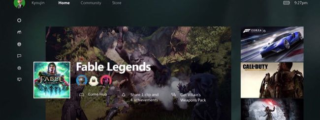 Xbox One: Windows 10, nuova dashboard e Cortana