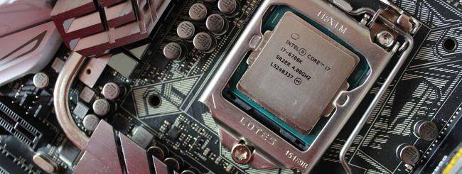 Intel blocca l'overclock dei processori Skylake