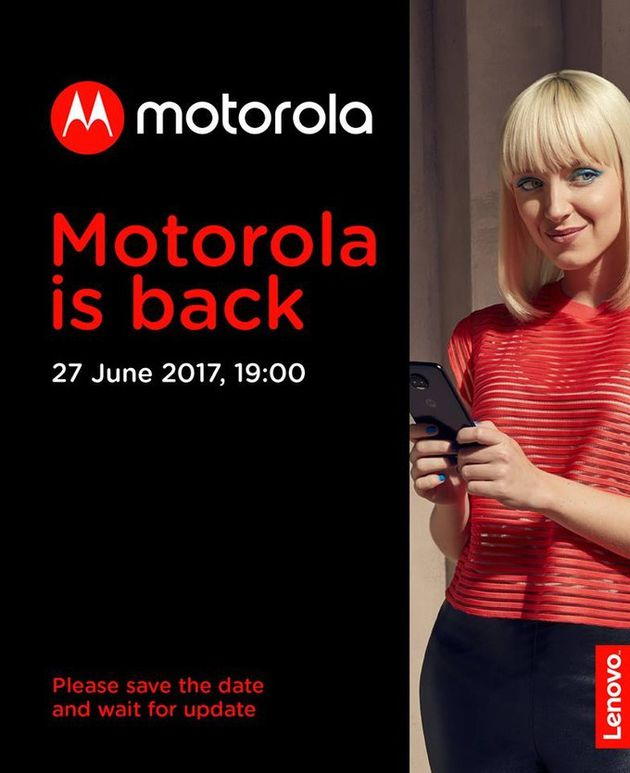 Motorola Moto Z2 invito