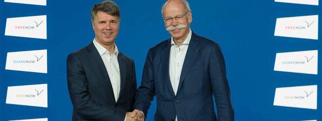 BMW e Daimler, alleanza su mobilità e car sharing
