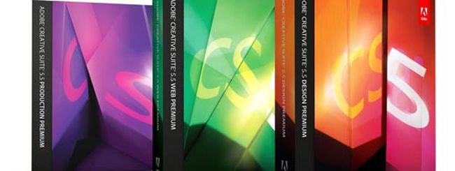 Adobe annuncia la Creative Suite 5.5