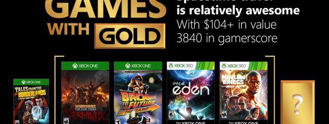 Microsoft svela i Games With Gold di dicembre