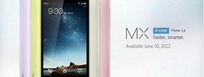 Meizu MX Quad-core in vendita dal 30 giugno