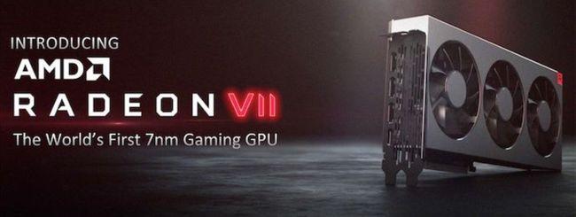 AMD svela Radeon VII, prima GPU a 7 nm